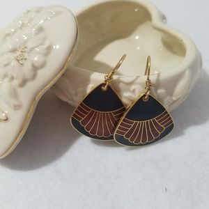 Laurel Burch earrings